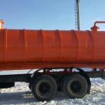 Автоцистерна ассенизационная 15 кубов, Пермь