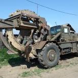 Роем траншеи траншеекопателем ТМК-2, Пермь