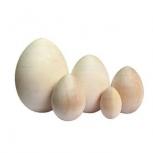 Яйцо без росписи 40*30 экстра заготовка деревянная, Пермь
