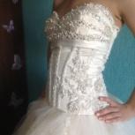 Продаю нежное свадебное платье, Пермь