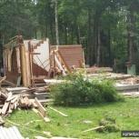 Демонтаж дачных домов, деревянных сооружений, Пермь