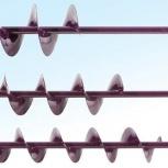 Шнек NERO 130 мм под шуруповерт через адаптер (пр. вр.) L(шн)-0,96 м, Пермь