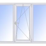 Окна пластиковые трехстворчатые профиль 58мм стеклопакет 24мм, Пермь