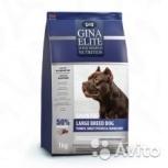 Gina Elite Grain Free Large Dog Turkey,Sweet Potat, Пермь