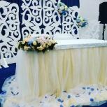 Декор зала на свадьбу, Пермь