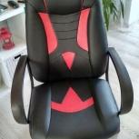 Кресло игровое бюрократ viking-8n черный/оранжевый, Пермь