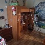 Срочно продаю детский двухъярусный уголок в хорошем состоянии., Пермь