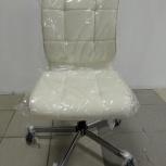 Кресло бюрократ ch- 330 бежевый кожзам, Пермь