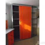 Шкаф-купе металлический для гаража, Пермь