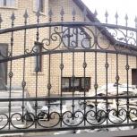 Мет. ворота, гаражные, ажурные заборы, Пермь