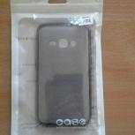 Чехол-накладка для Samsung J1, силиконовая, Пермь