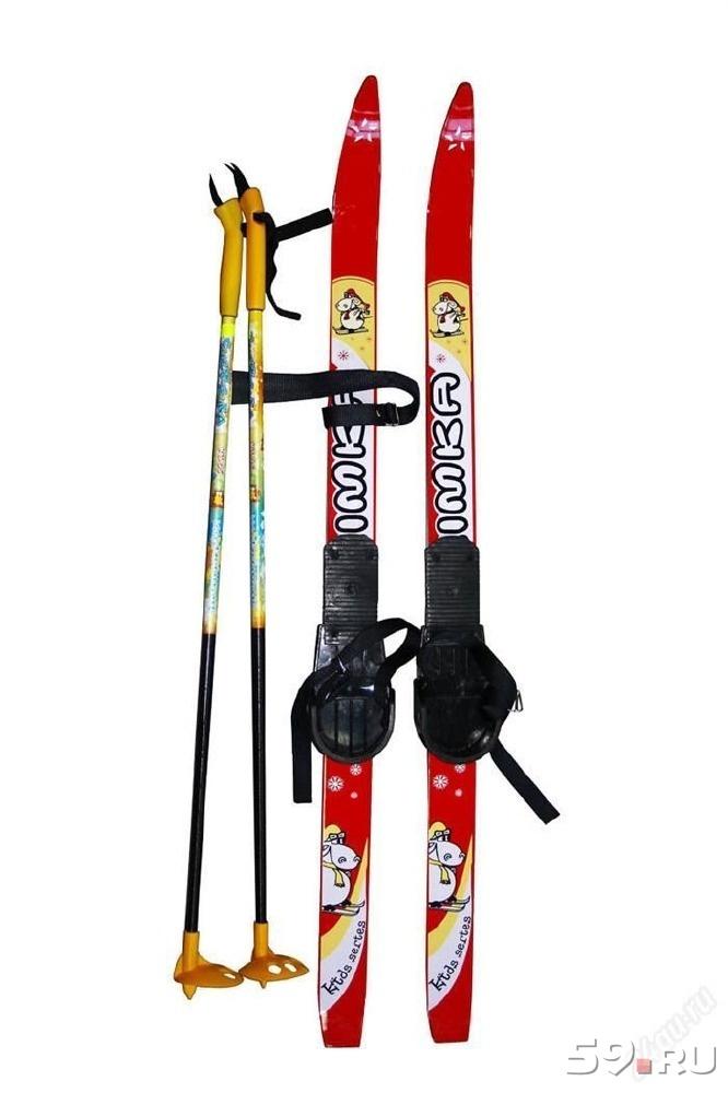 Лыжи деревянные картинки