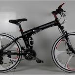 Новый складной велосипед + доставка в Пермь, Пермь