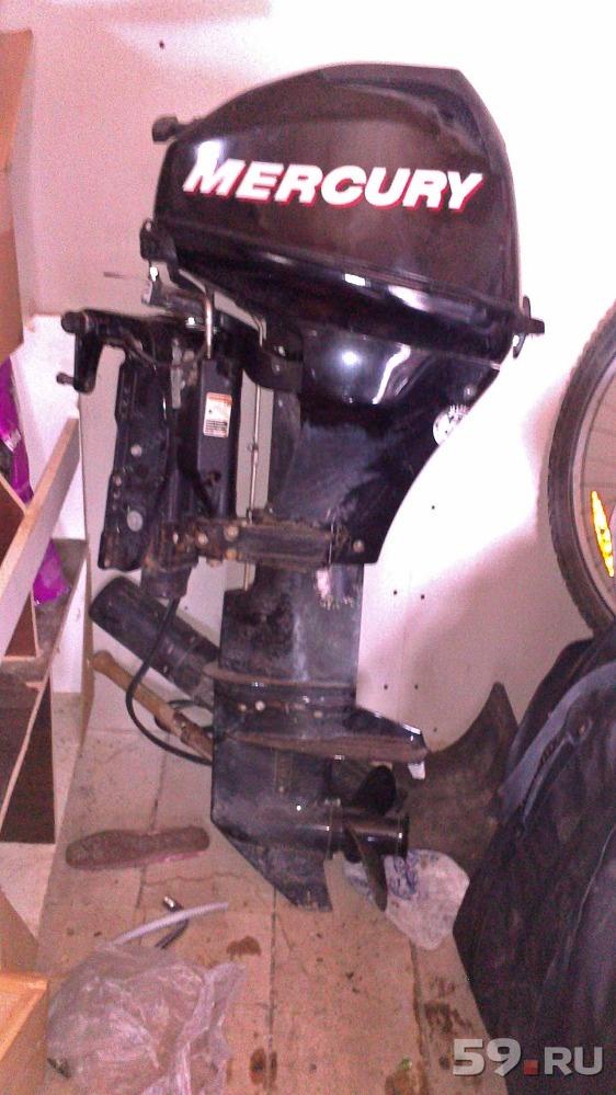 лодочный мотор yamaha mercury