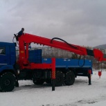 Кран-борт манипулятор, Пермь