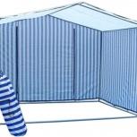 Палатки торговые на усиленном оцинкованном каркасе 25мм , столы, Пермь