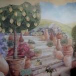 роспись стен и барельефы из штукатурки, Пермь
